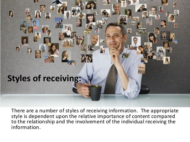 Relational Receiving Skills • Non-Listening: A style that is appropriate when the receiver has no need for the content and...