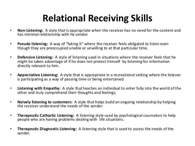 TYPES OF LISTENING • 1. Inactive listening. • 2. Selective listening. • 3. Active listening • 4. Reflective Listening