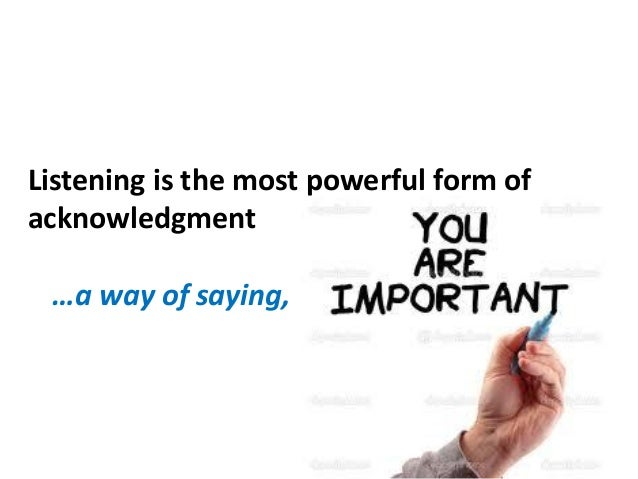 """Listening promotes being heard …""""Seek first to understand, then be understood."""" - Stephen Covey"""