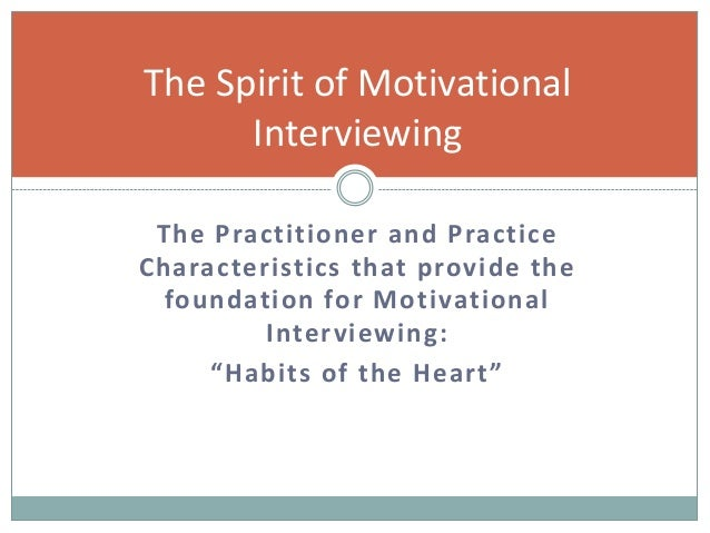 motivational interviewing miller and rollnick pdf