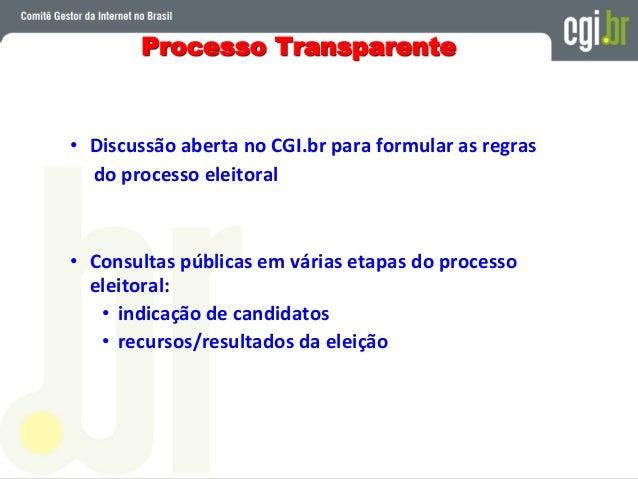 NÚCLEO DE INFORMAÇÃO E COORDENAÇÃO DO PONTO BR - NIC.br entidade jurídica privada, sem fins de lucro, executa e implementa...