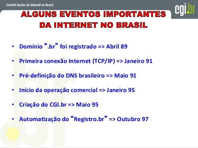 BASE LEGAL DO COMITÊ GESTOR DA INTERNET NO BRASIL