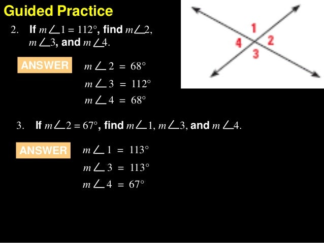 2.7 prove angle pair relationships