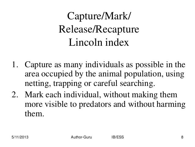 lincoln index