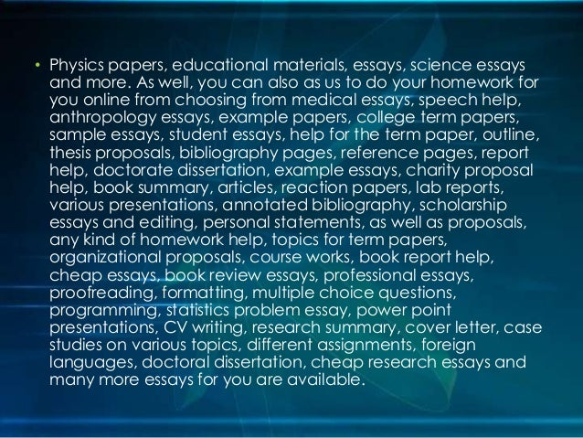 Custom essay on physics best literature review writers websites for school