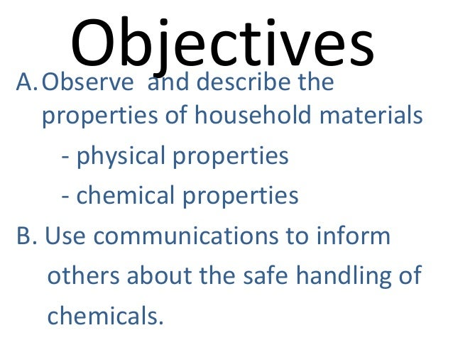 2.materials found at home according to their uses.ppt2nd Slide 3