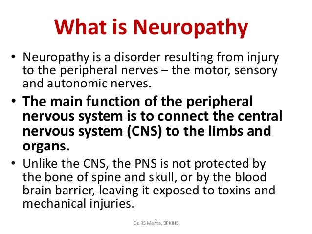2 neuropathies ForWhat Is Motor Neuropathy