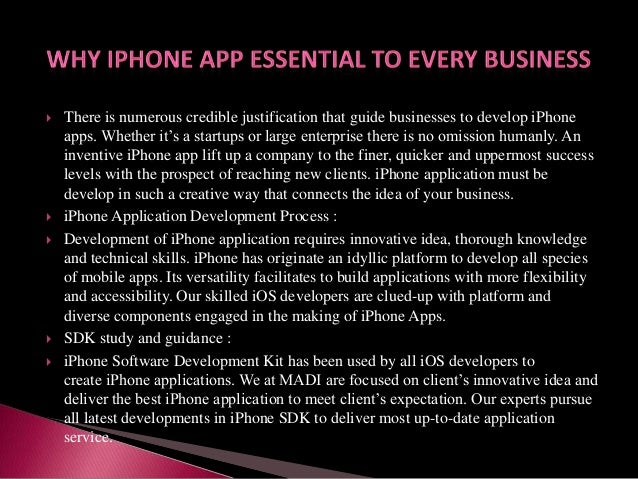         There is numerous credible justification that guide businesses to develop iPhone apps. Whether it's a startup...