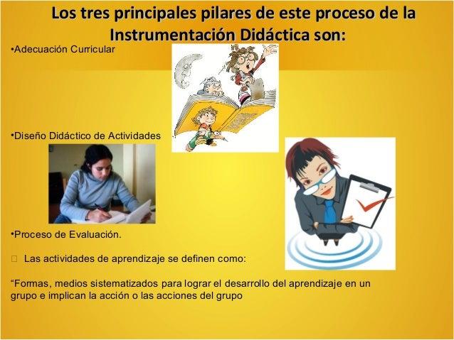 La instrumentación didáctica de trabajo del aula   Objetivos de Aprendizaje.  La Didáctica Tradicional no le concede much...