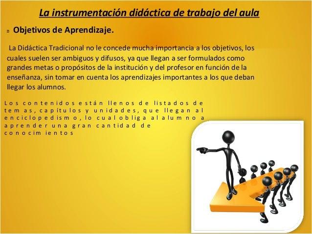 La instrumentación didáctica de trabajo del aula Estrategias. Incluir a los alumnos en la toma de decisiones de dichas act...