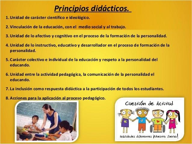 Principios didácticos del Mined. Integralidad. El equilibrio en sicomotricidad, cognición, socio afectividad.  Protagonism...