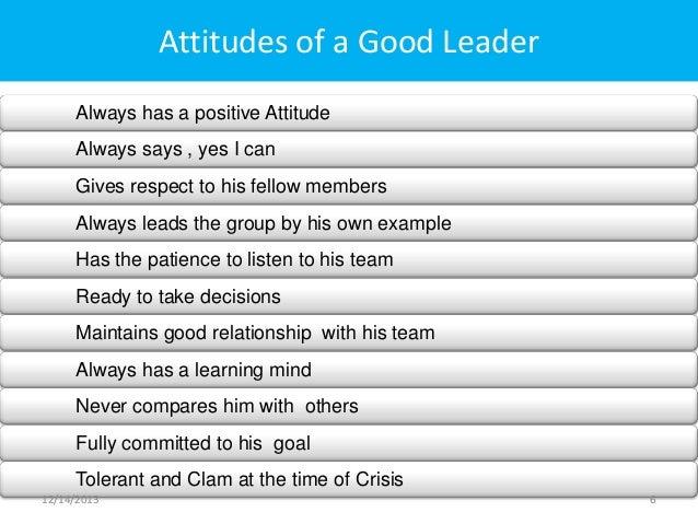 leadership skills examples