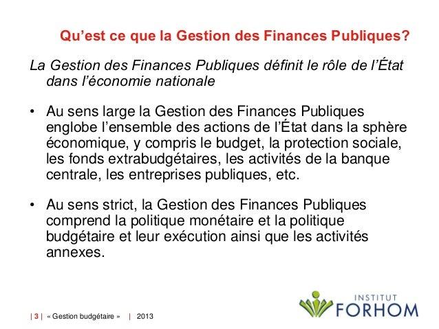 2 L Architecture Des Systemes De Gestion Des Finances Publiques