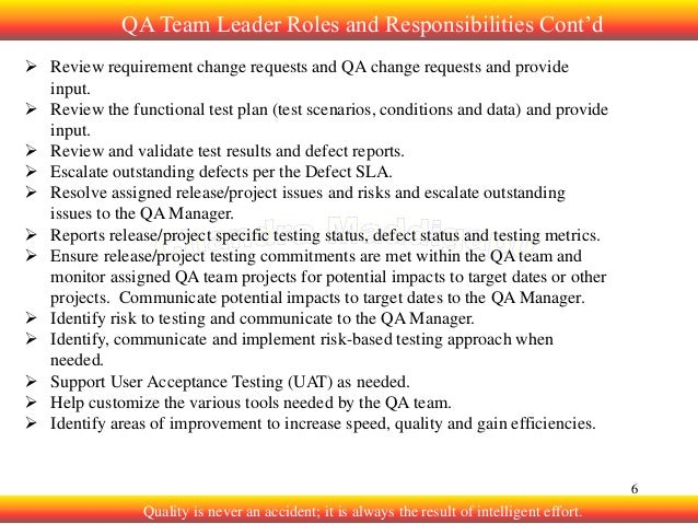 resposibilities of a team leader Module 4 responsibilities of senior management presented by neil redman  manager or leader  management team are.
