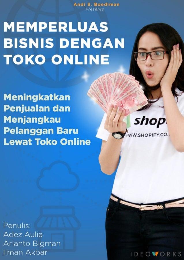 E-Book GRATIS Memperluas Bisnis Dengan Toko Online