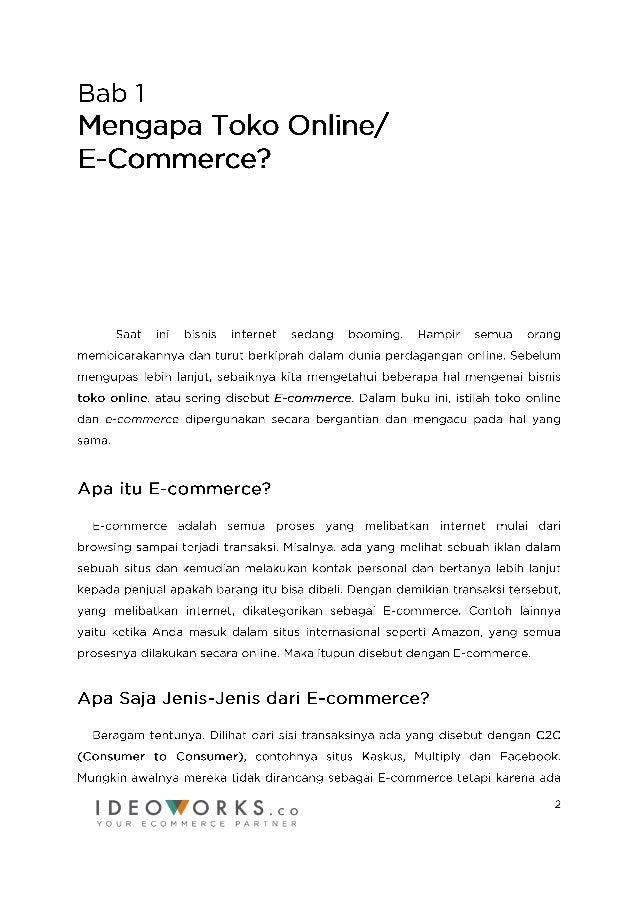 E-Book GRATIS Memperluas Bisnis Dengan Toko Online Slide 2