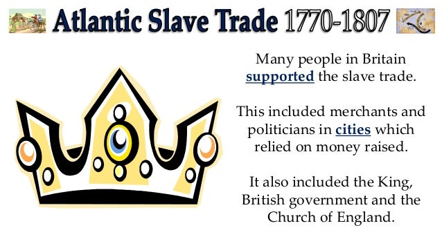 Arguments against slavery in the british