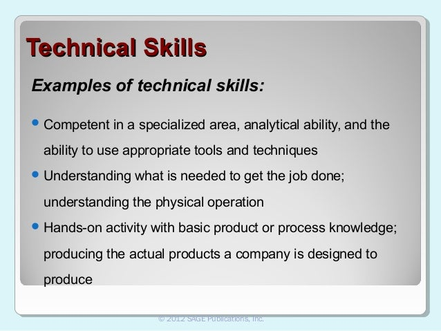 Technical Skills List Examples  What Are Technical Skills