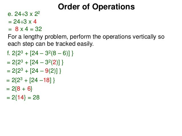 2 1 order of operations w