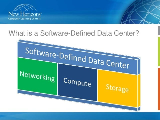 software defined data center pdf