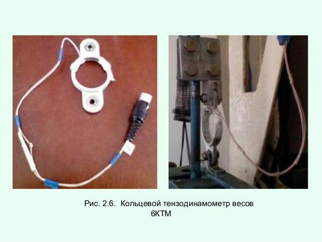 Рис. 2.6. Кольцевой тензодинамометр весов 6КТМ