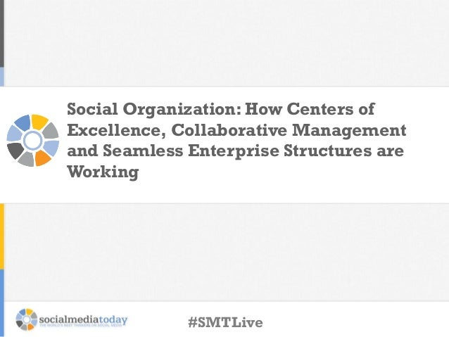 Social Organization: How Centers of Excellence, Collaborative Management and Seamless Enterprise Structures are Working  #...
