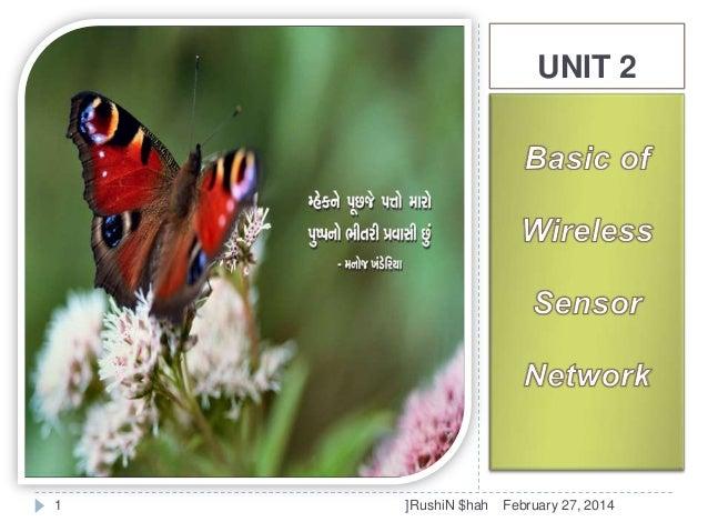 UNIT 2  1  ]RushiN $hah  February 27, 2014