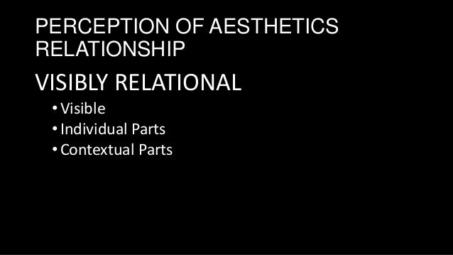 principle of aesthetic reasoning Title pages introduction 1 aesthetic judgements, aesthetic principles, and aesthetic properties 2 aesthetic essence 3 the acquaintance principle 4 the.