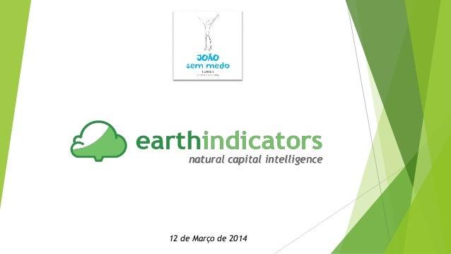 natural capital intelligence 12 de Março de 2014