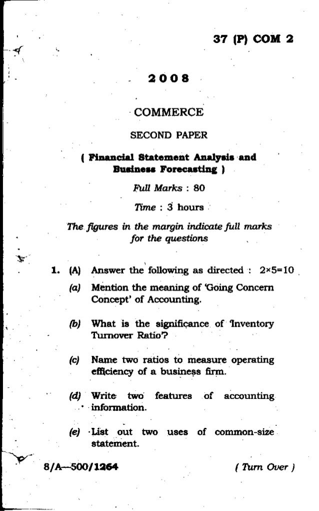 financial statement analysis and financial forecasting Chapter 13 financial and earnings forecasting chapter 14 cash flow forecasting chapter 15 analysis of cost behavior  or statements of expected future .