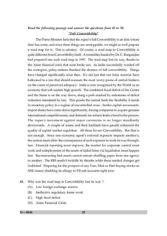 ugc net commerce question paper 20