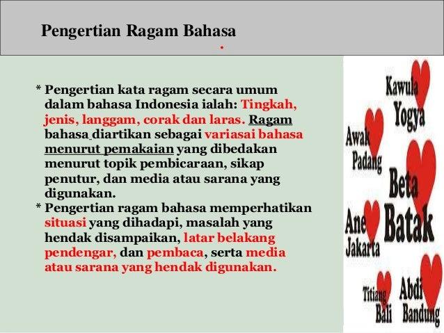 2 Arti Fungsi Dan Ragam Bahasa Indonesia