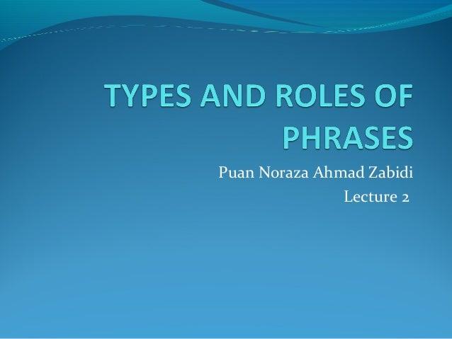 Puan Noraza Ahmad Zabidi Lecture 2