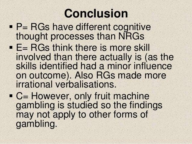 Griffiths study on gambling summary ralph engelstad casino
