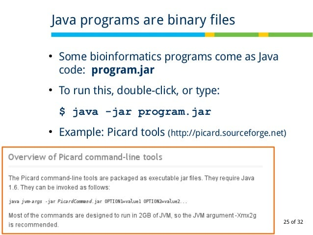 Part 2 of 'Introduction to Linux for bioinformatics