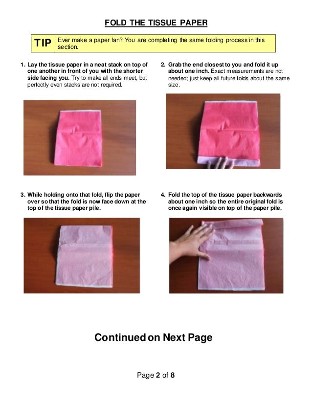 How to make tissue paper flowers instructions 2 mightylinksfo