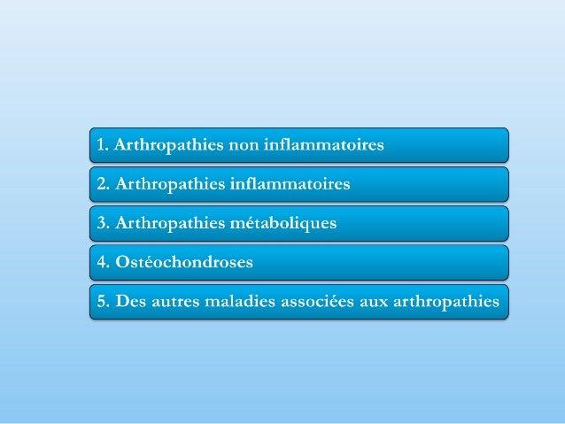 La maladie articulaire dégénérative – représente la voie finale du traumatisme du cartilage articulaire;  Le terme d'os...