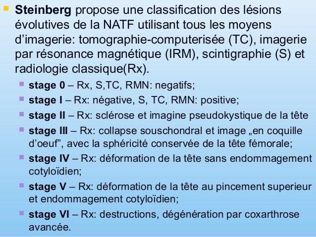 La classification Steinberg – stage IV RX