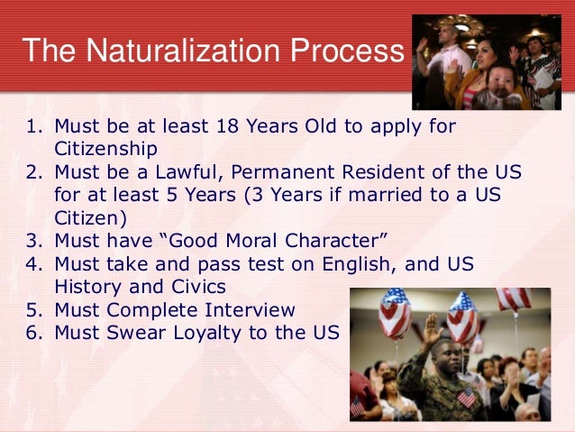 An Overview Of The United States Naturalization Process