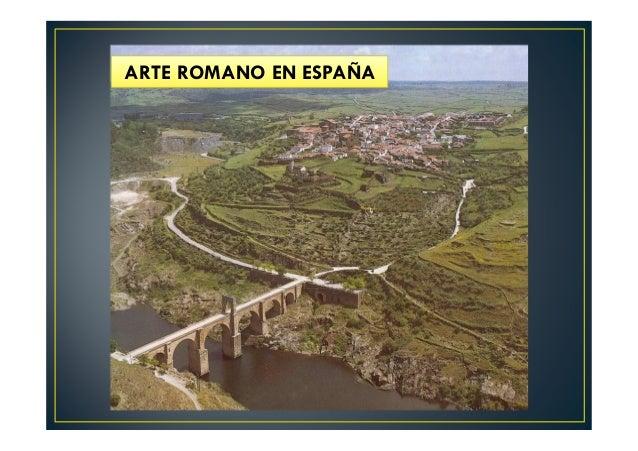 ARTE ROMANO EN ESPAÑA