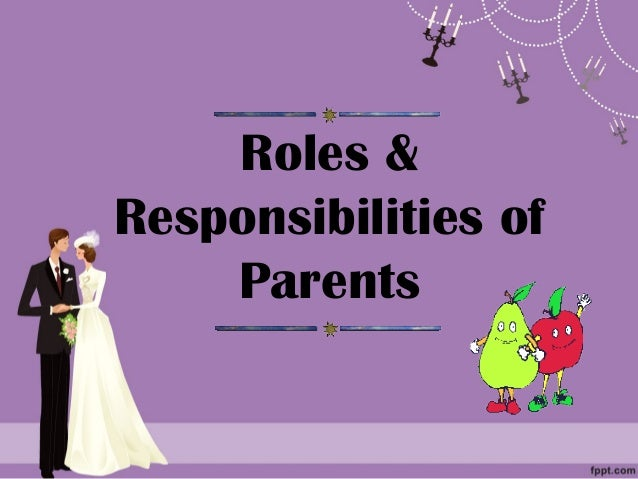 Rights and Obligations of Parents