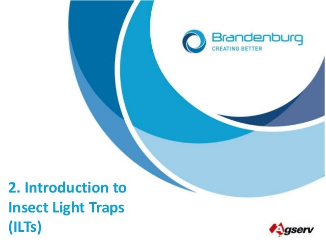 2. Introduction to Insect Light Traps (ILTs)