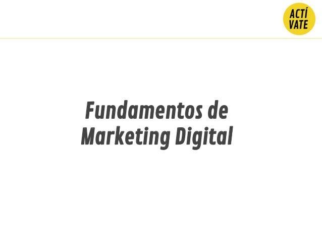 Fundamentos de Marketing Digital