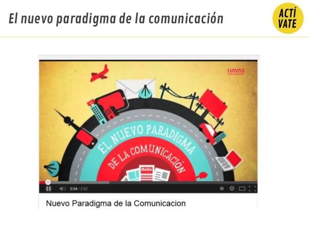El nuevo paradigma de la comunicación