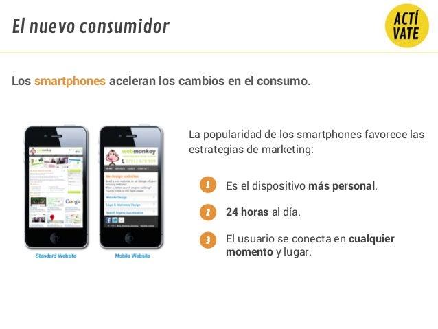 La popularidad de los smartphones favorece las estrategias de marketing: Los smartphones aceleran los cambios en el consum...