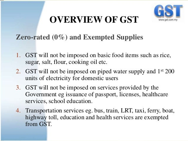 history of goods and service tax in malaysia essay Goods and service tax were first deliberated in 2005 with the intention to introducing it in 1st january 2007 however, it was withdrawn in the following year in 2009, gst was revived with a proposed rate of 4% to replace current sales tax of 10% and service tax of 5% in a bid to diversify national revenues.