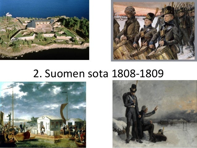 2. Suomen sota 1808-1809