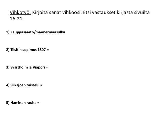 2. suomen sota Slide 3