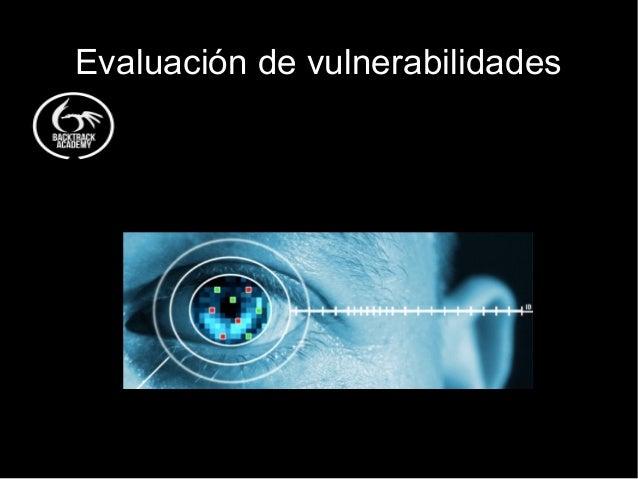 Evaluación de vulnerabilidades