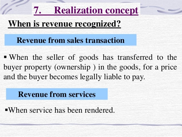 revenue recognition 2 essay Revenue recognition - part 2 - revenue essay example the main problem in this case is the treatment of 1,000,000 cash balance being held in first brazil national bank in san paolo.
